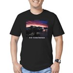 B-17 Flying Fortress Men's Fitted T-Shirt (dark)