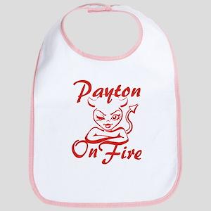 Payton On Fire Bib