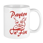 Payton On Fire Mug