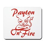 Payton On Fire Mousepad