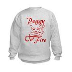 Peggy On Fire Kids Sweatshirt