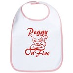 Peggy On Fire Bib
