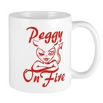 Peggy On Fire Mug