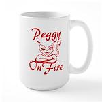 Peggy On Fire Large Mug