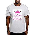 Italian Princess Ash Grey T-Shirt