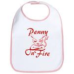 Penny On Fire Bib