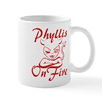 Phyllis On Fire Mug