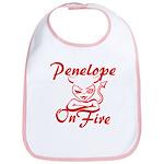 Penelope On Fire Bib