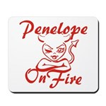 Penelope On Fire Mousepad