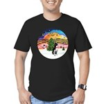 XMusic2 - Boston T3 Men's Fitted T-Shirt (dark)