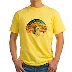 XMusic2 - Bichon Frise Yellow T-Shirt