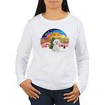 XMusic2 - Bichon Frise Women's Long Sleeve T-Shirt