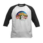 XMusic2 - Bichon Frise Kids Baseball Jersey
