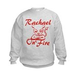 Rachael On Fire Kids Sweatshirt