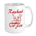 Rachael On Fire Large Mug