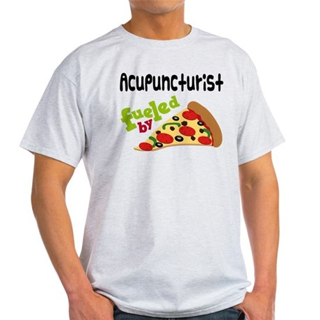 Acupuncturist Funny Pizza Light T-Shirt