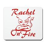 Rachel On Fire Mousepad