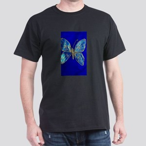 Glitter Butterfly Dark T-Shirt