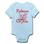 Rebecca On Fire Infant Bodysuit