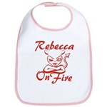 Rebecca On Fire Bib