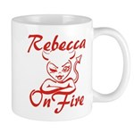 Rebecca On Fire Mug