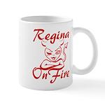Regina On Fire Mug