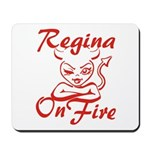 Regina On Fire Mousepad