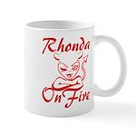 Rhonda On Fire Mug