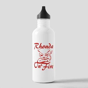 Rhonda On Fire Stainless Water Bottle 1.0L