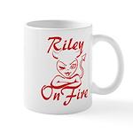 Riley On Fire Mug