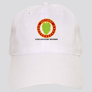 DUI - 24th Infantry Division with Text Cap