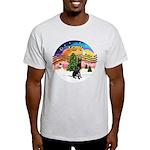 XMusic2-GreatDane (blk-cr) Light T-Shirt