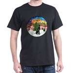 XMusic2-GreatDane (blk-cr) Dark T-Shirt