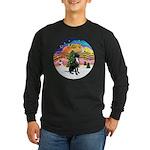 XM2-Gr.Dane (blk-nat) Long Sleeve Dark T-Shirt