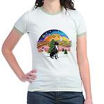 XM2-Gr.Dane (blk-nat) Jr. Ringer T-Shirt