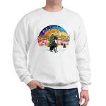 XM2-Gr.Dane (blk-nat) Sweatshirt
