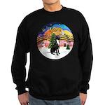 XM2-Gr.Dane (blk-nat) Sweatshirt (dark)