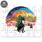 XM2-Gr.Dane (blk-nat) Puzzle