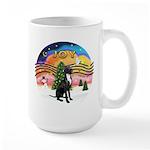 XM2-Gr.Dane (blk-nat) Large Mug