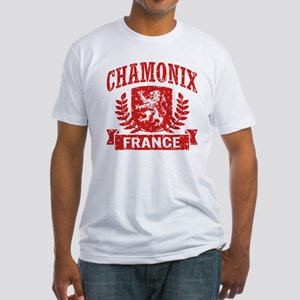 Chamonix France Fitted T-Shirt
