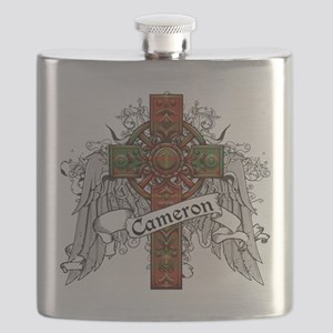 Cameron Tartan Cross Flask