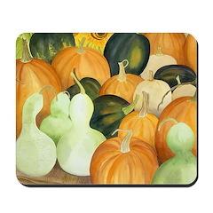 Pumpkins & Gourds Mousepad