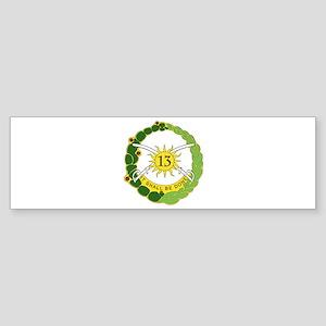 DUI - 1st Battalion, 13th Armor Sticker (Bumper)
