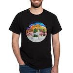 XMusic2 - Greyhound (BW) Dark T-Shirt