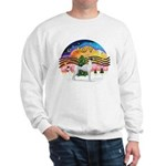 XMusic2 - Greyhound (BW) Sweatshirt