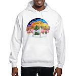 XMusic2 - Greyhound (BW) Hooded Sweatshirt