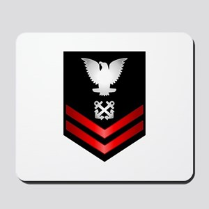 Navy PO2 Boatswain's Mate Mousepad