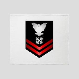 Navy PO2 Boatswain's Mate Throw Blanket