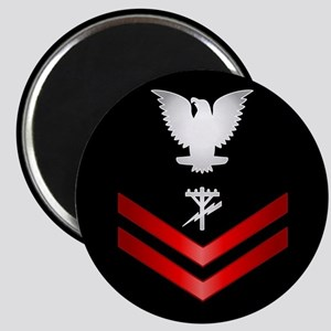 Navy PO2 Construction Electrician Magnet