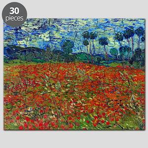 Van Gogh - Poppy Field Puzzle